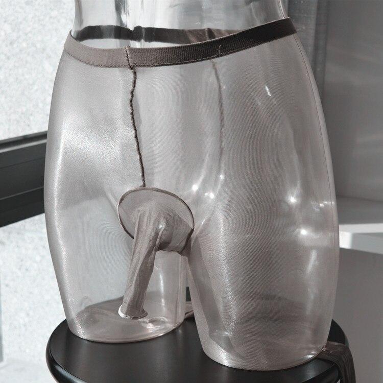 Sexy Mens Tights Pantyhose Men Exotic Apparel Man Sex Lingerie Shiny Glossy Stockings Gay Penis Cover Socks JJ Diamond Leggings