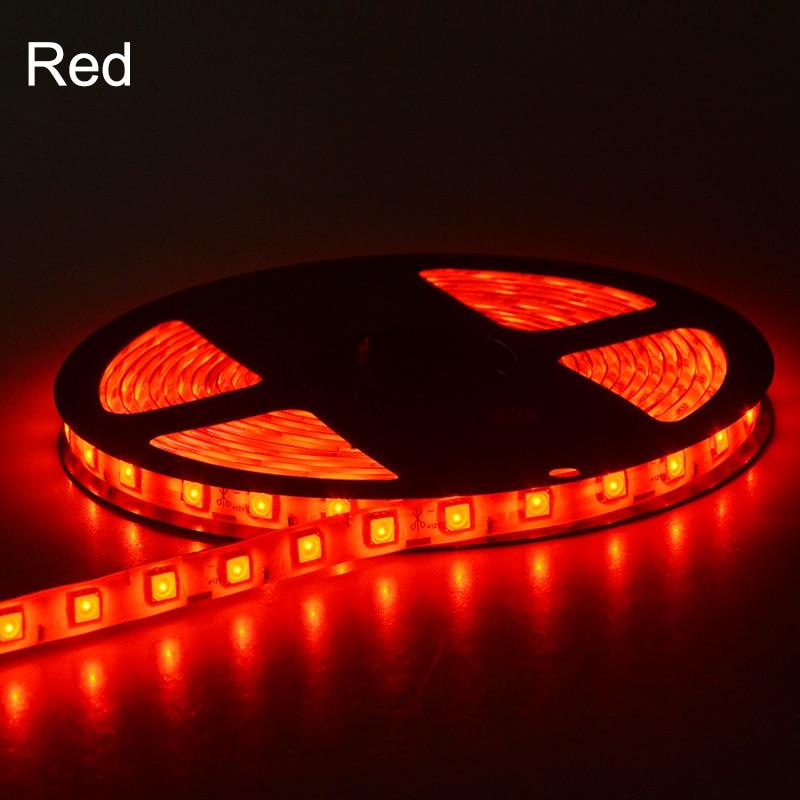 5 metros 5050 RGB Luz de tira LED DC 12V 60 LEDs / m Cinta de diodo - Iluminación LED - foto 5