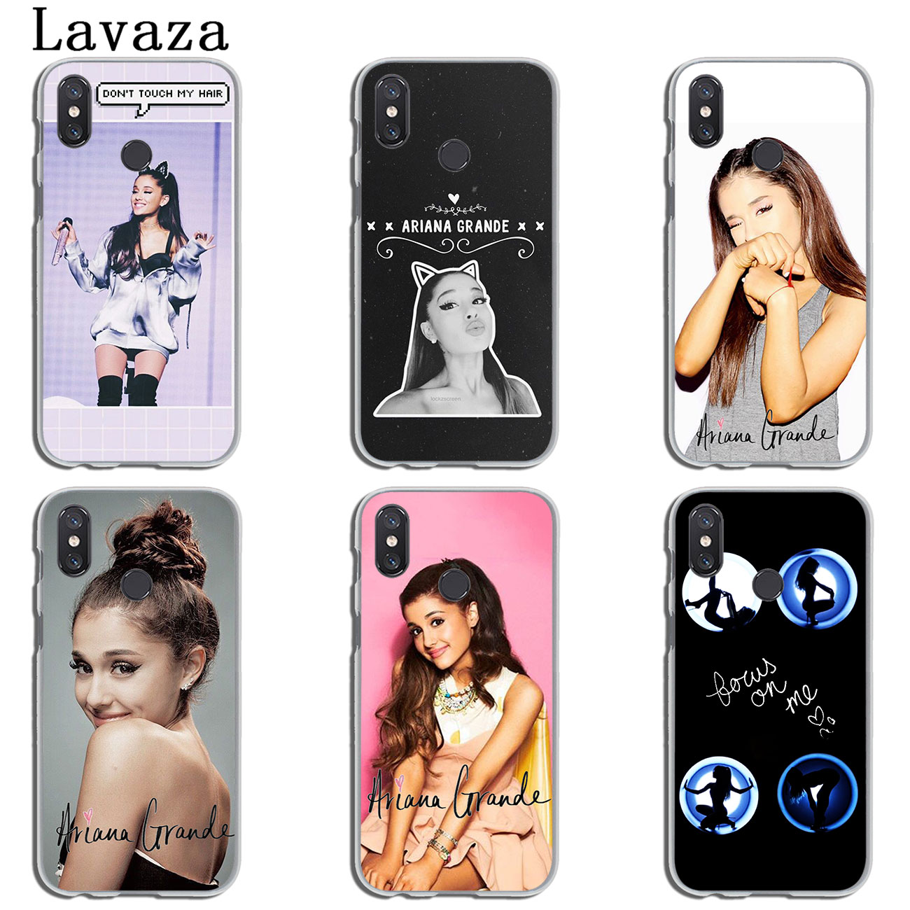 Half-wrapped Case Lavaza Cat Ar Ariana Grande Novelty Fundas Silicone Case For Xiaomi Mi 6 8 9 Se Max 3 Lite F1 A1 A2 5x 6x Max 3 Cheapest Price From Our Site Phone Bags & Cases