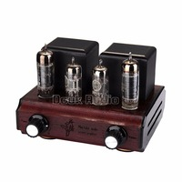 Douk Audio Mini PC92 6AQ5 Vacuum Valve Tube Amplifier Stereo Single Ended Class A 2 0