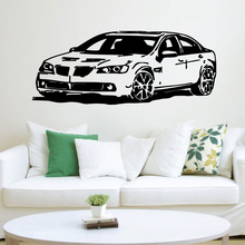 Classic car Wall Sticker Decal Home Decor Living Room Bedroom Removable For Kids Decoration