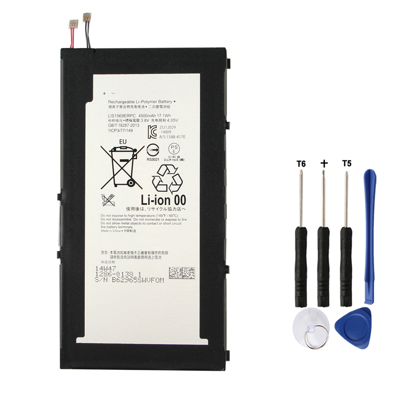 Original Replacement Battery LIS1569ERPC For SONY Xperia Z3 Tablet Compact Authentic 4500mAh