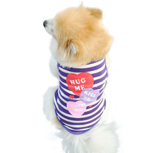 "Custom Printed ""Hug Me Kiss Me Love Me"" Pet Dog Shirt"