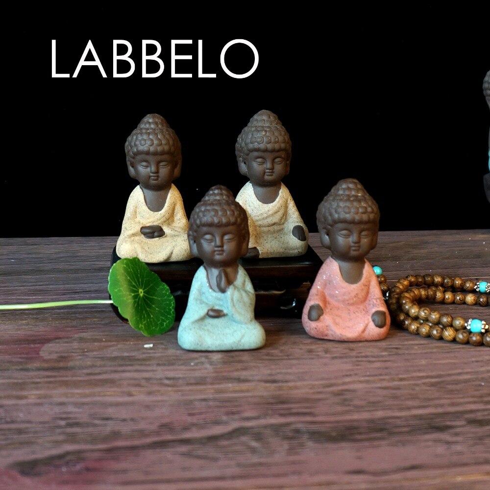 labbelo κεραμικά Βούδα άγαλμα μοναχός - Διακόσμηση σπιτιού - Φωτογραφία 2