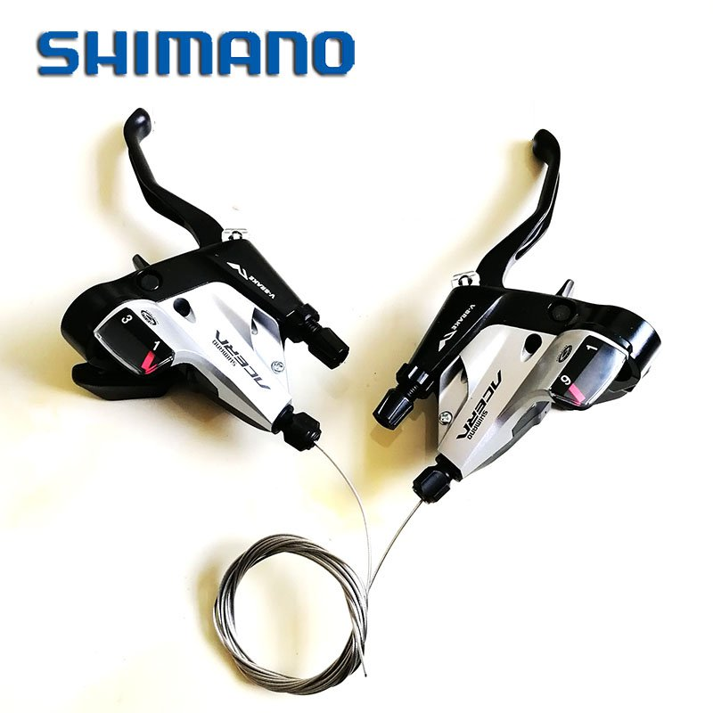 Shimano Acera M390 9 Speed Conjoined DIP Shifter Trigger Set ST-M390 3X9 w/inner Cable top258mn top258mg dip 9