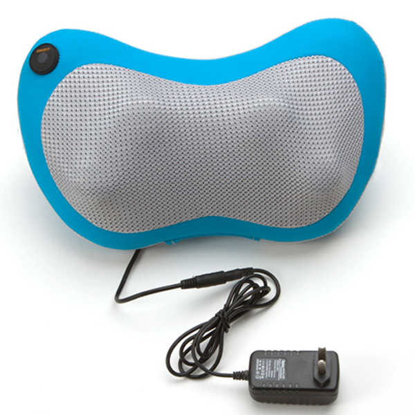 Dual-use Car Massage Pillow Cervical Multifunctional Kneading Cushion Heated Pillow for Car&Home Use Free Shipping hot selling free shipping bone shape massage pillow relax car massage pillow