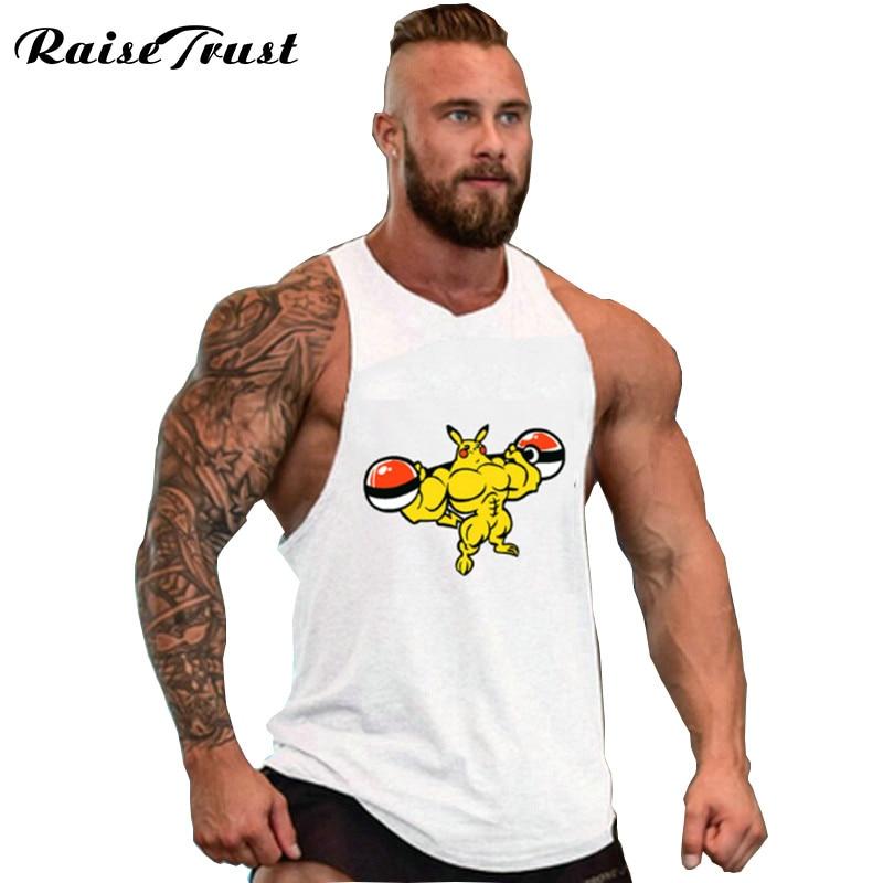 Neue tops kleidung Bodybuilding Fitness Männer turnhallen Tank Top Weste Stringer sportswear Unterhemd Fitness westen Tank Top