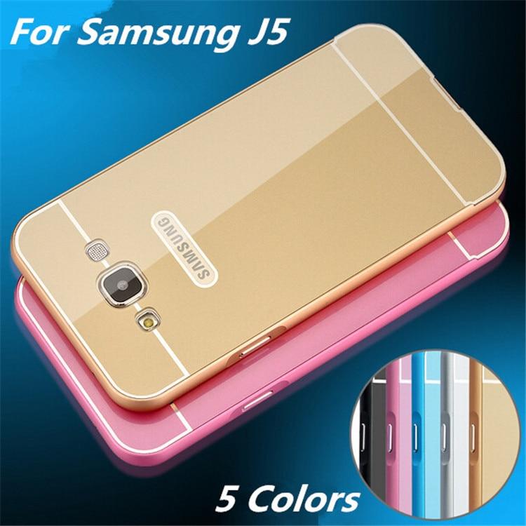 size 40 d63af aae0e US $4.13 |Cases For Samsung J5 Metal Aluminum +Acrylic Hard Case For  Samsung Galaxy J5 J500 Hybrid Ultrathin Back Armor Cover on Aliexpress.com  | ...