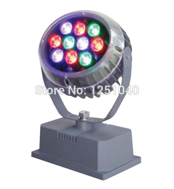 ФОТО Factory Supply DC24V DMX512 RGB Warranty 3 Years CE RoHS FCC High Quality 10 Watt LED Floodlight Outdoor Flood Lights
