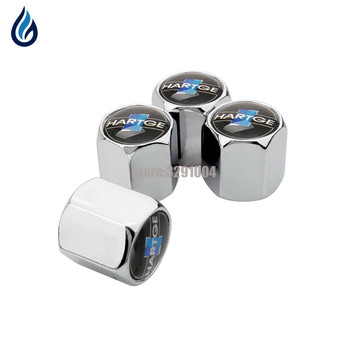 Car Styling Wheel Tire Valve Stems Caps Cover For BMW Hartge Logo E46 E39 E60 E90 E36 X5 E53 F30 F10 E34 E30 X5 E70 F20 E87 M5 image