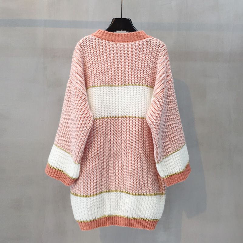 College Fall Long Sequins Korean And Coming Knitting Women Sweater New Loose News Jacket Sweet Winter Pullover Hot 1 2019 f8apxqw