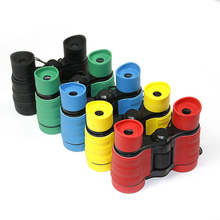 Newest 4x30 Plastic Children Binoculars Pocket Size Telescope Maginification For Kids Outdoor Games Boys Toys Gift