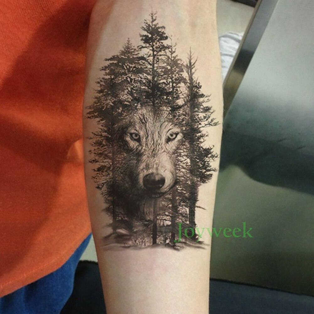 1049 руб водонепроницаемая временная татуировка наклейка ворона тигр ганеша волк