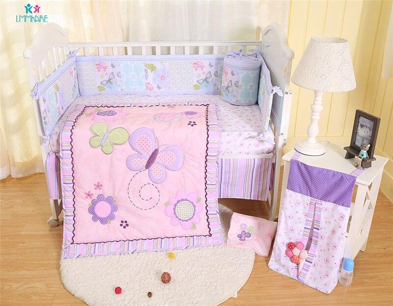 """Pottery Barn Kids /""""Pink Flowers /& Butterflies/"""" Standard Pillow Sham"""