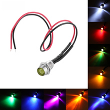 цена на 12v LED Indicator Light Pilot Dash Car Van Boat Warning Dashboard Signal Light  Lamp for Car Boat Marine
