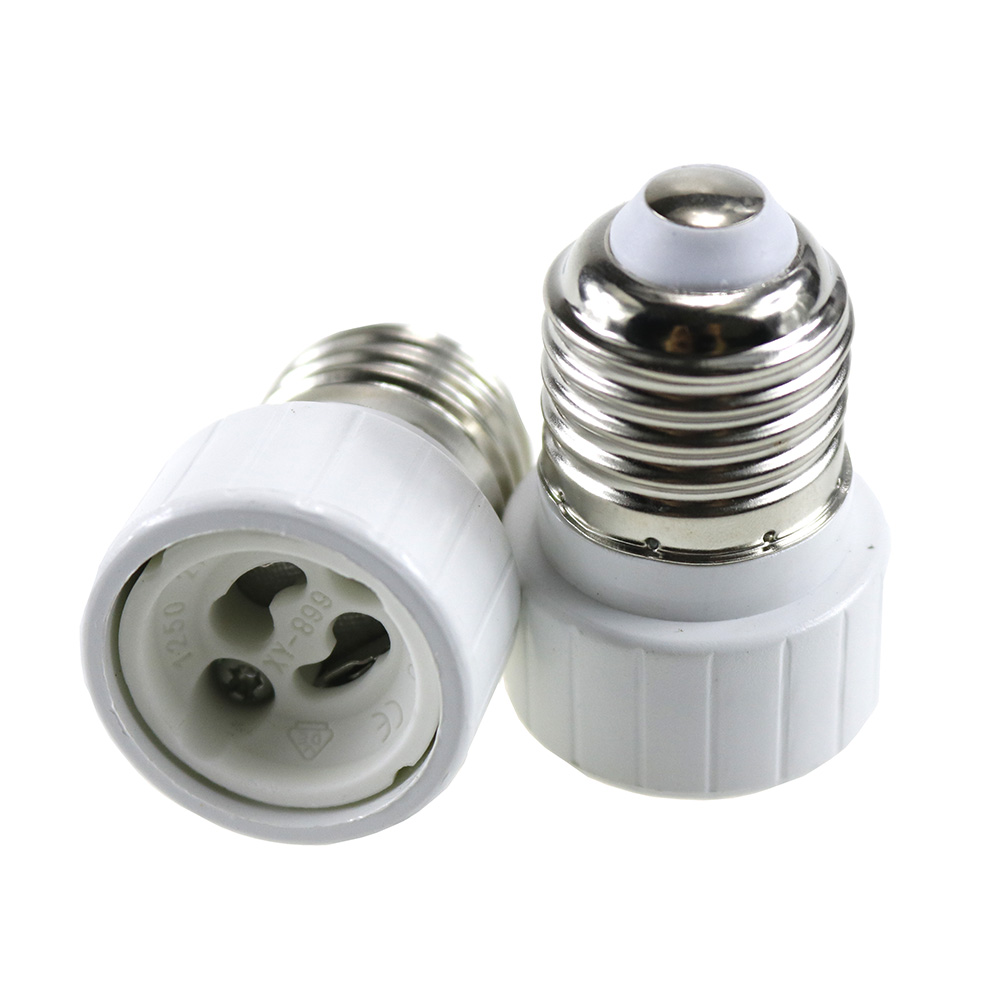 New E27 To GU10 Fireproof Material Lamp Holder Converters Socket Adapter Light Bulb  Extend Base Type Good Quality 1PCS