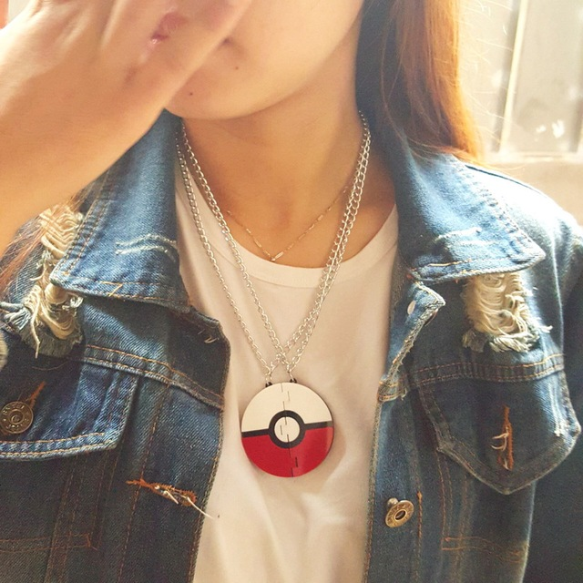 Pokemon Game Acrylic Necklace