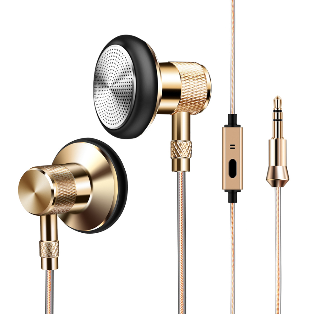 T6 In-Ear Headset Earbud Metal Earphone Super Clear Headset Handsfree call For iphone7 6 5s  huawei xiaomi MP3/mp4 uiisii u2 stereo bass in ear earphone super clear earphone noise isolating earbud headset for iphone 6 meizu xiaomi mp3 pc