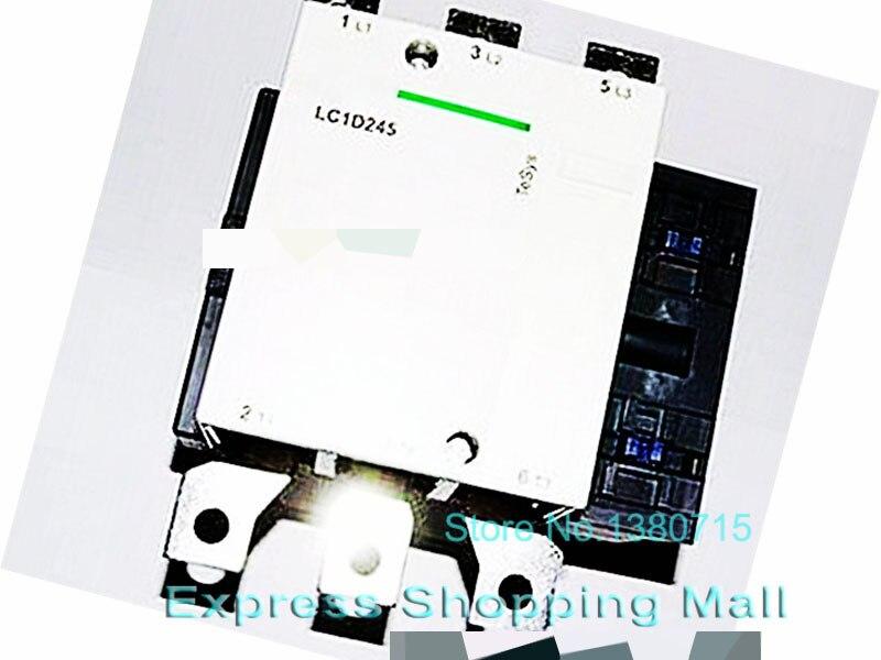 New LC1D245Q5C TeSys D Contactor 245A AC 380V 50Hz LC1-D245Q5C ac contactor lc1f115d7 lc1 f115d7 42v lc1f115e7 lc1 f115e7 48v lc1f115f7 lc1 f115f7 110v lc1f115g7 lc1 f115g7 120v