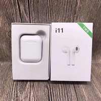 i11 TWS Bluetooth 5.0 Wireless Earphones Earpieces mini Earbuds for iPhone X 6 7 8 Samsung S6 S7 S8 Xiaomi Huawei PK i7s i8 i9s