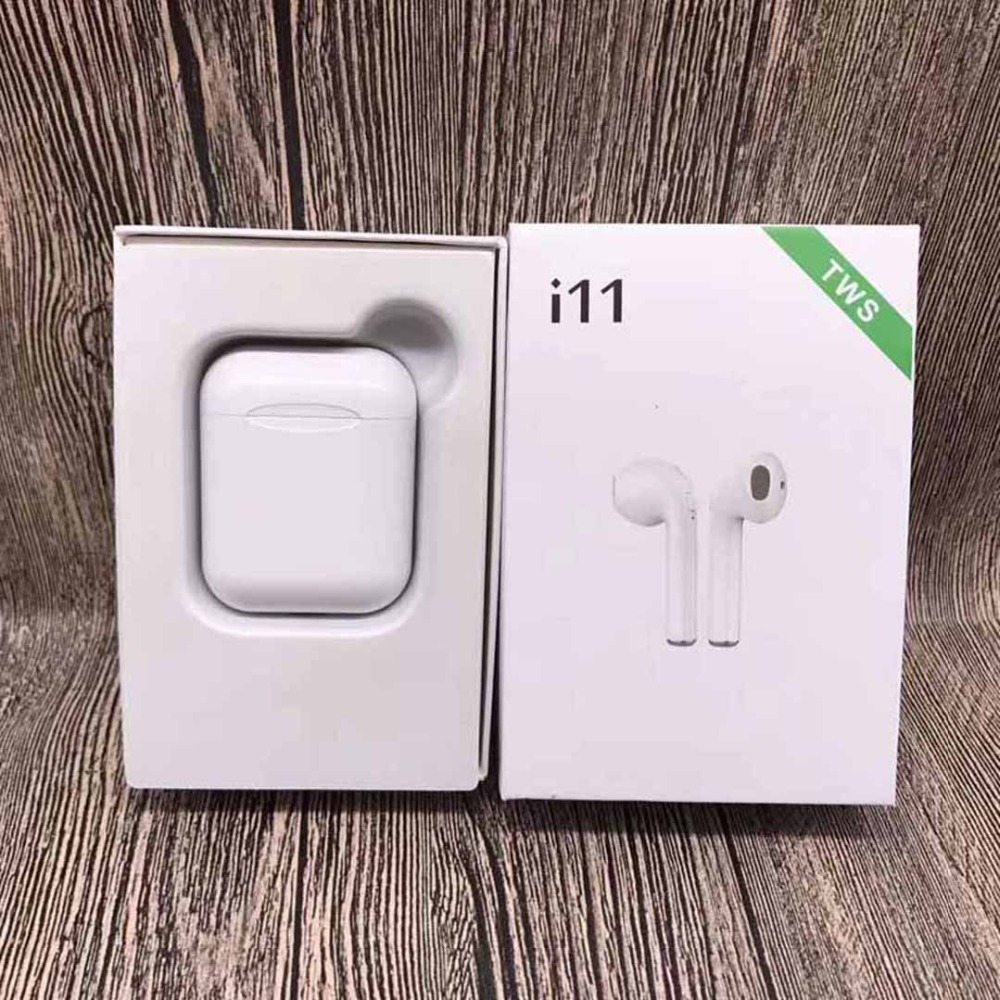 i11 <font><b>TWS</b></font> Bluetooth 5.0 Wireless Earphones Earpieces mini Earbuds for iPhone X 6 7 8 Samsung S6 S7 <font><b>S8</b></font> Xiaomi Huawei PK i7s i8 i9s image