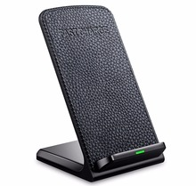 KEXU Qi Fast Wireless Charger Wireless Charger pad for iPhone 8 Samsung Galaxy S8 Plus S7 S6 Note 8 Fast Wireless Charging Stand