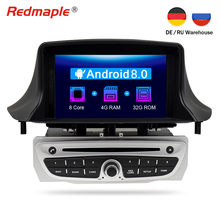6b0cfaaa7 IPS Tela Android 8.0 Car DVD Player GPS Navigation 3 Estéreo Multimídia  Para Renault Megane Fluence 2009-2015 Auto radioAudio