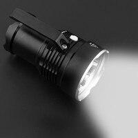 Ручной XM L T6 6LED фонарик лампа прожектора 18650 батарея факел водонепроницаемый велосипедный фонарь фонари кемпинг фонарь факела