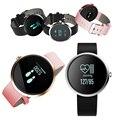 Zucoor v06 inteligente pulseira de relógio de pulso banda de frequência cardíaca pressão arterial vida à prova d' água relógio de pulso para ios android pk id107 a9