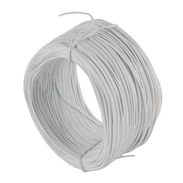 0.55mm 85m Cable Tie Galvanized Tie Wire White Flat-in Cable Ties ...