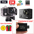 Free Shipping!Gitup Git2 Novatek 96660 1080P WiFi 2K Outdoor Sports Action Camera+Extra 1pcs 950mAh Battery