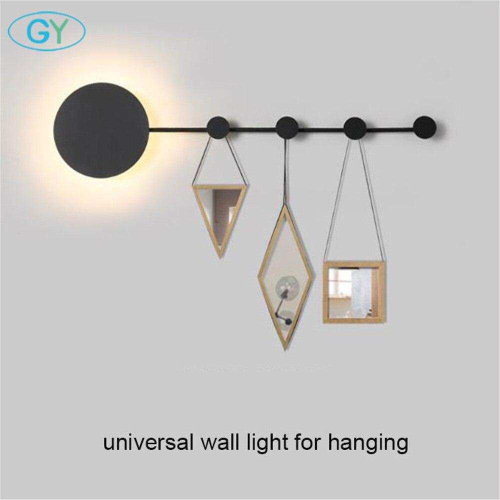 Moderne nordique vestiaire 15 W mur LED lumières montage chambre armoire universel appliques chambre salon décoratif applique murale