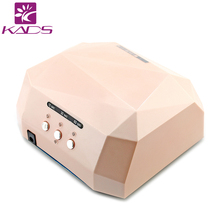 2017 UV Lamp LED Nail Lamp Nail Dryer Diamond Shaped 36W Long LIife LED CCFL Curing Nail Tools For UV Gel Nail Polish Art Tools