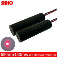 Hot Sale 650nm 150mw Adjustable High Power Red Dot Sight Laser Module Industrial Class Red Diode