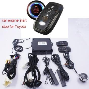 For toyota PRADO Car add push button start stop sysem and remote key start stop control system for Toyota PRADO