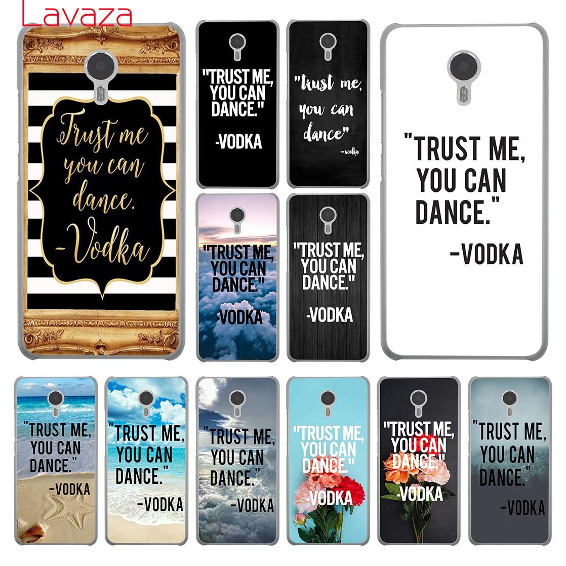 Lavaza поверьте мне вы можете танцевать vodka Жесткий телефон чехол для Meizu M6 M5 M5C M5S M3 M3S M2 Примечание mini Pro 7 плюс 6 U10 U20 крышка