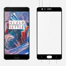 Original MOFI Brand 2.5D Ultra Thin Full Screen Tempered Glass For Oneplus 3 Smartphone