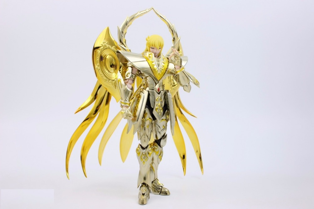 ФОТО IN STOCK Virgo Shaka Divine armor soul of gold SOG Saint Seiya Myth Cloth EX S-Temple SAIRE METAL CLUB MC