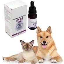 Безопасная и натуральная жидкость для ухода за домашними животными для удаления пятен на глаза и осветления глаз(20 мл) жидкость для ухода за собачьим глазом