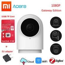 Новинка Xiaomi Aqara 1080P умная камера G2 шлюз версия Zigbee связь IP Wifi Беспроводная облачная Домашняя безопасность умные устройства