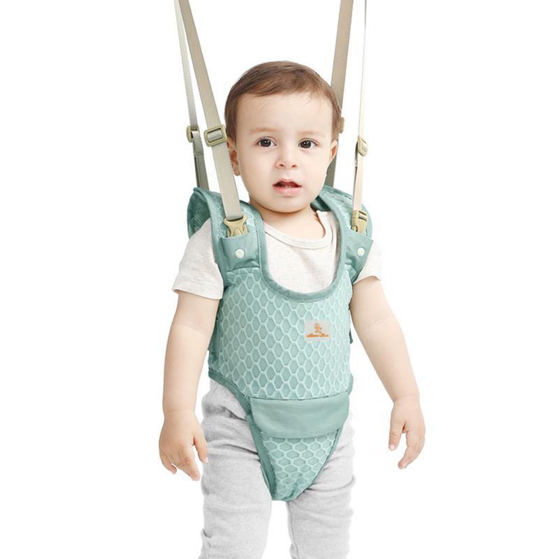 2018 Baby Toddler Kid Harness Bouncer Jumper Learn To Moon Walk Walker Assistant Breathable Basket Boys Girls Baby Walker Help