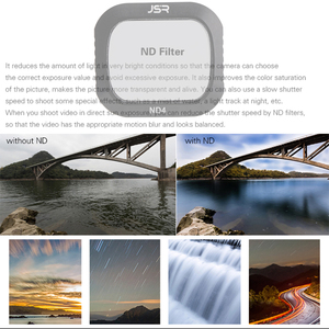 Image 5 - For DJI Mavic 2 Pro Filter ND4+ND8+16+32+ND64 Neutral Density Glass For DJI Mavic2 Pro/Professional Protector Drone Accessories