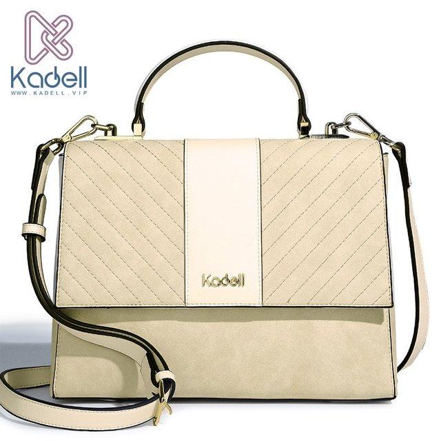 Kadell матовый мешок дизайнерские женские из искусственной кожи Курьерские сумки для Для женщин Crossbody Сумки на плечо известных брендов Топ-ручка клапаном сумка