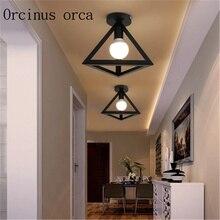 American creative home stairs hallway hallway lamp corridor porch lamp lamp crystal lamp
