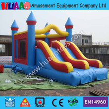 7*4.5m Double Lane Inflatable Bouncer Castle with Slide by DHL to door