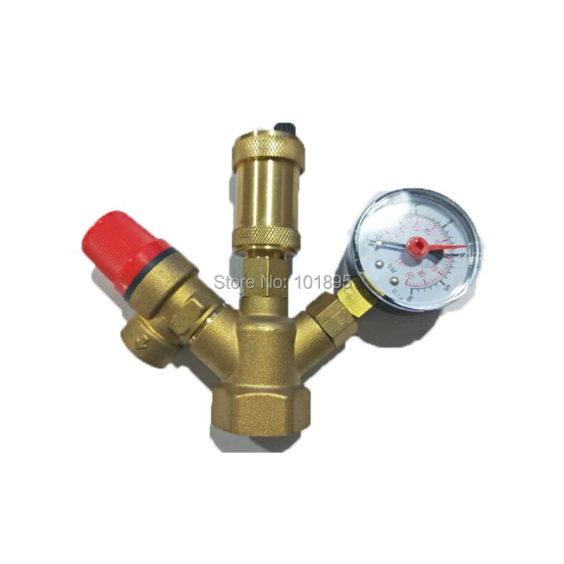 Exhaust Safety Relief Pressure Boiler Valve Assembly 9 25 dia thread yelow rubber head safety pressure relief valve zmm