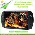 New arrival handheld gaming consoles	 Android tablet game player Dual Core 8G memory android game console support many games