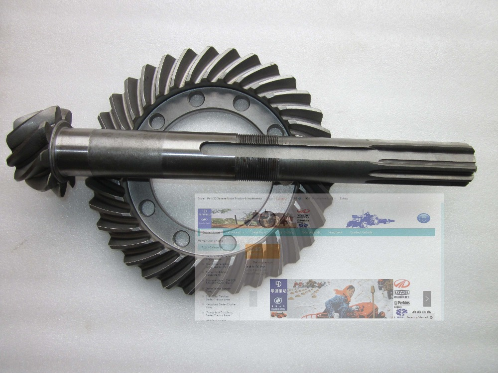 Fengshou estate trator FS180,FS184 with engine J285T, the spiral bevel gear with shaft of gear box, part number: corporate real estate management in tanzania
