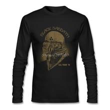 Black Sabbath Music Футболки Поп-веганская футболка на заказ с длинным рукавом из чистого хлопка