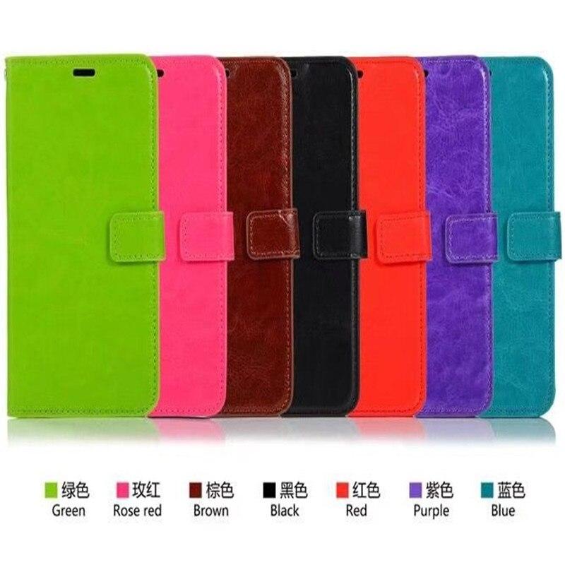 50pcs lot Flip PU Leather Cover Case For One Plus font b 7 b font font